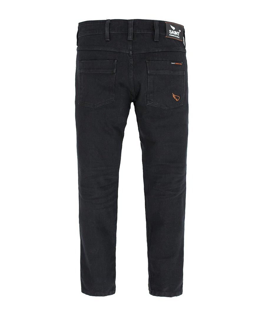 Image of SA1NT UNBREAKABLE SLIM JEANS - BLACK