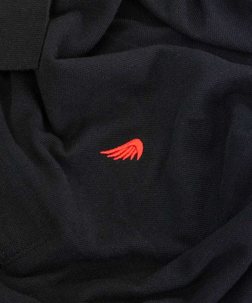 Image of SA1NT POLO - BLACK