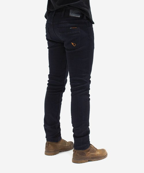 Image of SA1NT UNBREAKABLE SLIM JEANS (ARMOUR POCKETS) - INDIGO OVERDYED