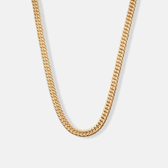 Image of SAFFIE NECKLACE / 24k Gold-coated silver