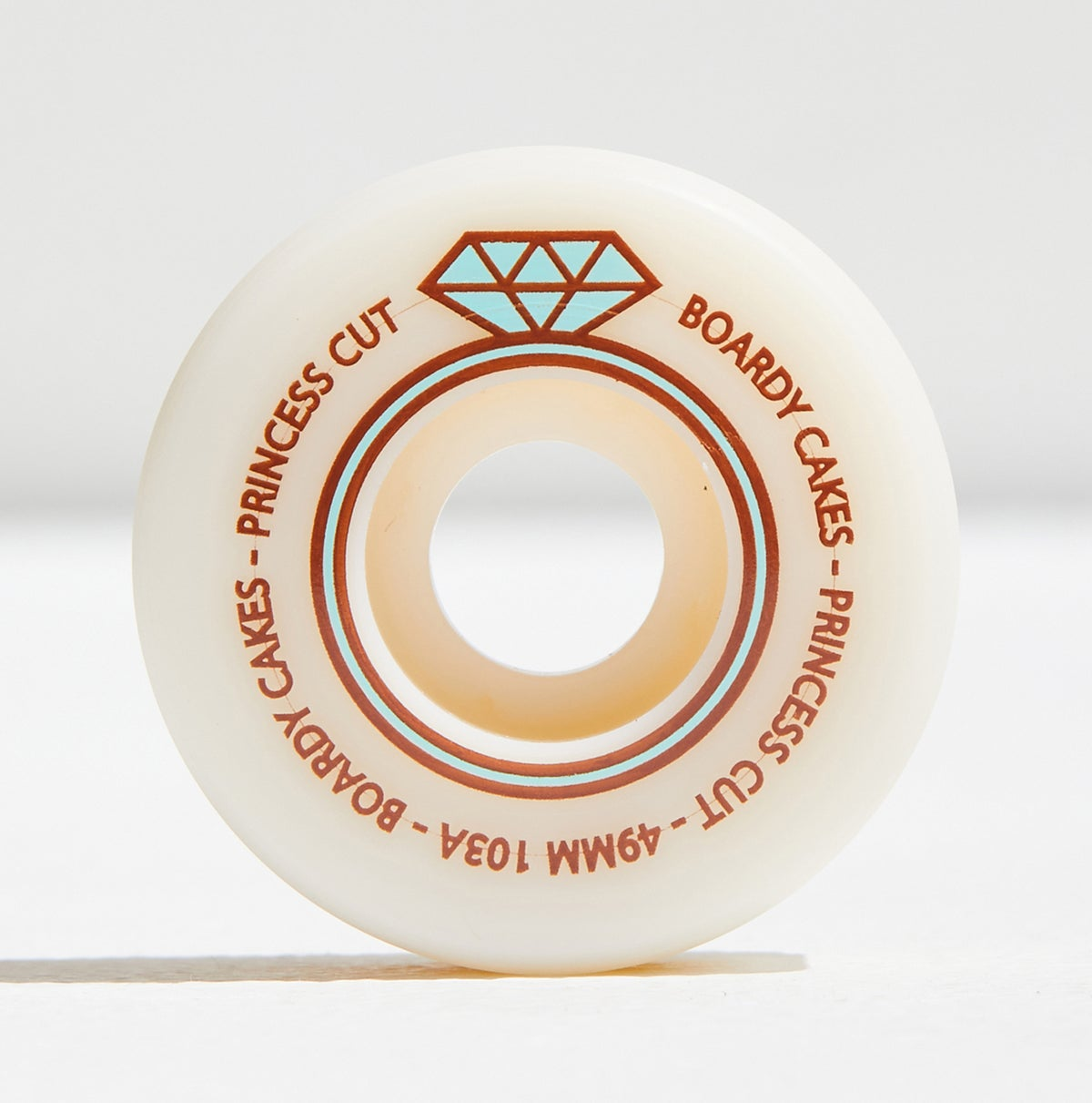 """Image of Boardy Cakes 49mm 103a """"Princess Cut"""""""