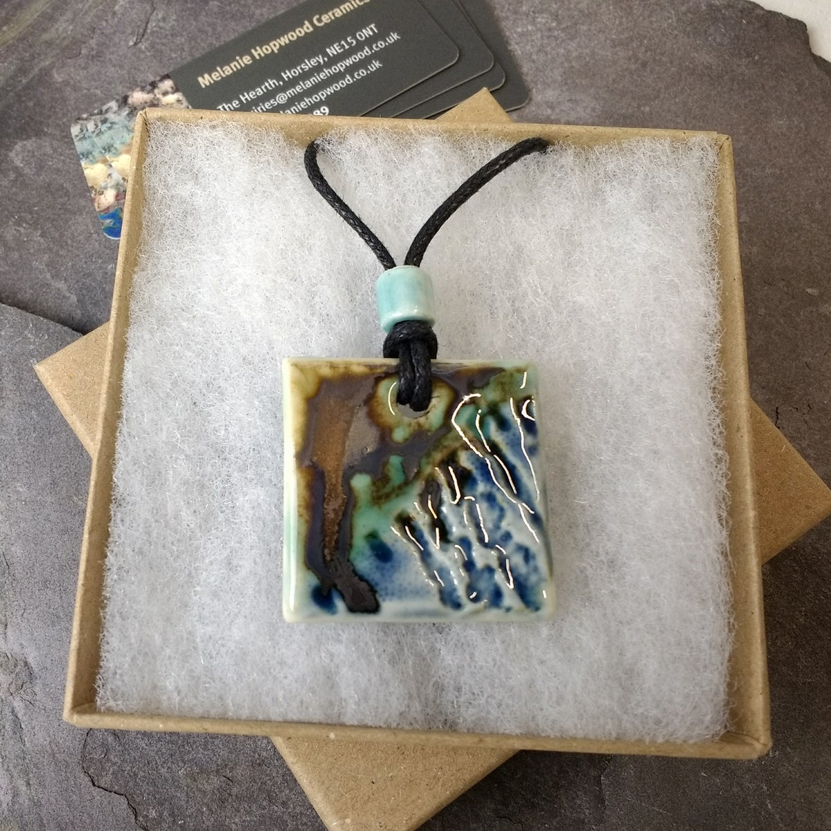 Marbled Coast pendants