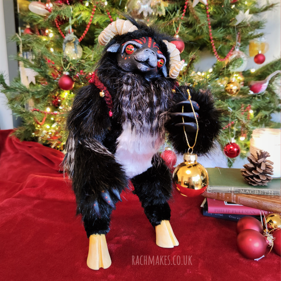 Image of Krampus Art Doll