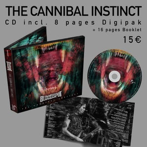 Image of THE CANNIBAL INSTINCT - 8 Pages Digipak