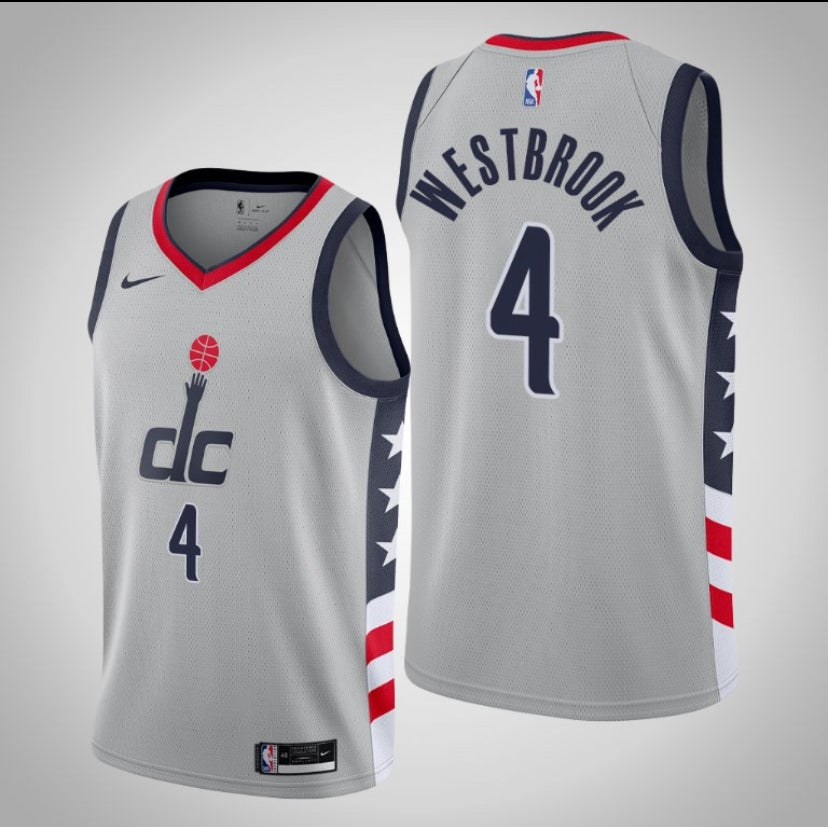 Image of Russel Westbrook wizards city jersey 2020/2021