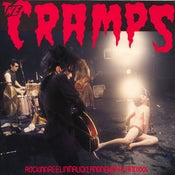 Image of LP. The Cramps : Rockinnreelininaucklandnewzealand.  Fanclub Blue vinyl.