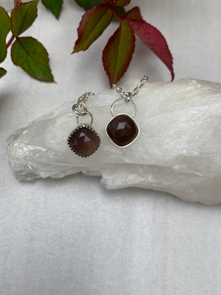 Image of Chocolate Moonstone Littles