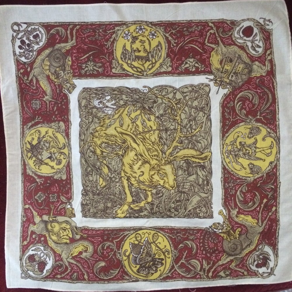 Image of Hunt for the Golden Jackalope Bandana