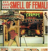 Image of LP. The Cramps : Smell Of Female.   9 tracks Ltd Yellow vinyl.