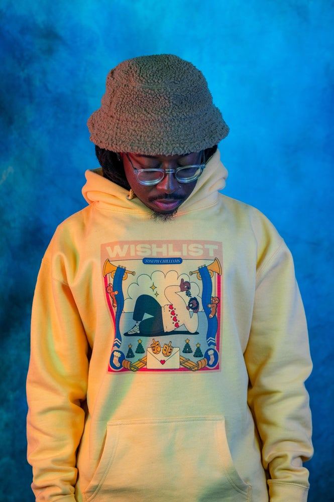 "Image of ""Wishlist"" Hoody in Yellow"