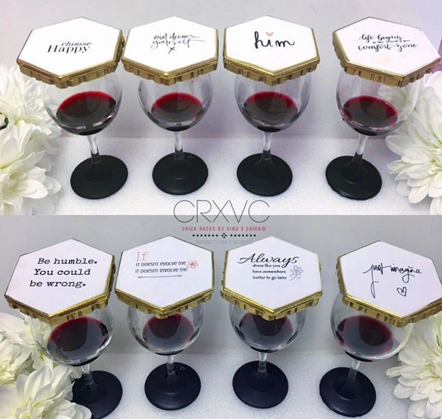 Image of Wineglass Coverss