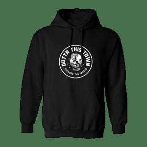 Image of Explore The World Hoodie Black 🌎
