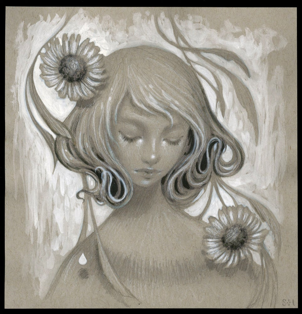 Image of blossom ~ sketch study