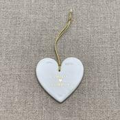Image of Coeur à suspendre personnalisable
