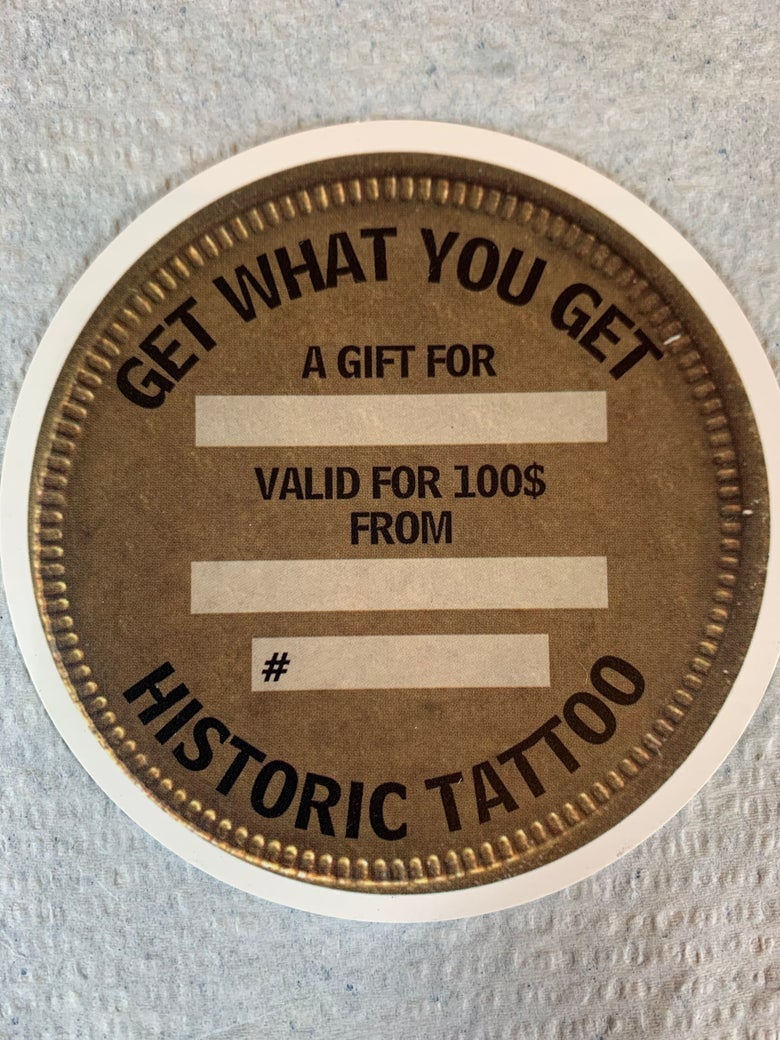 Image of Get What You Get gift card $100