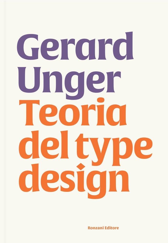 Image of Teoria del type design - Gerard Unger