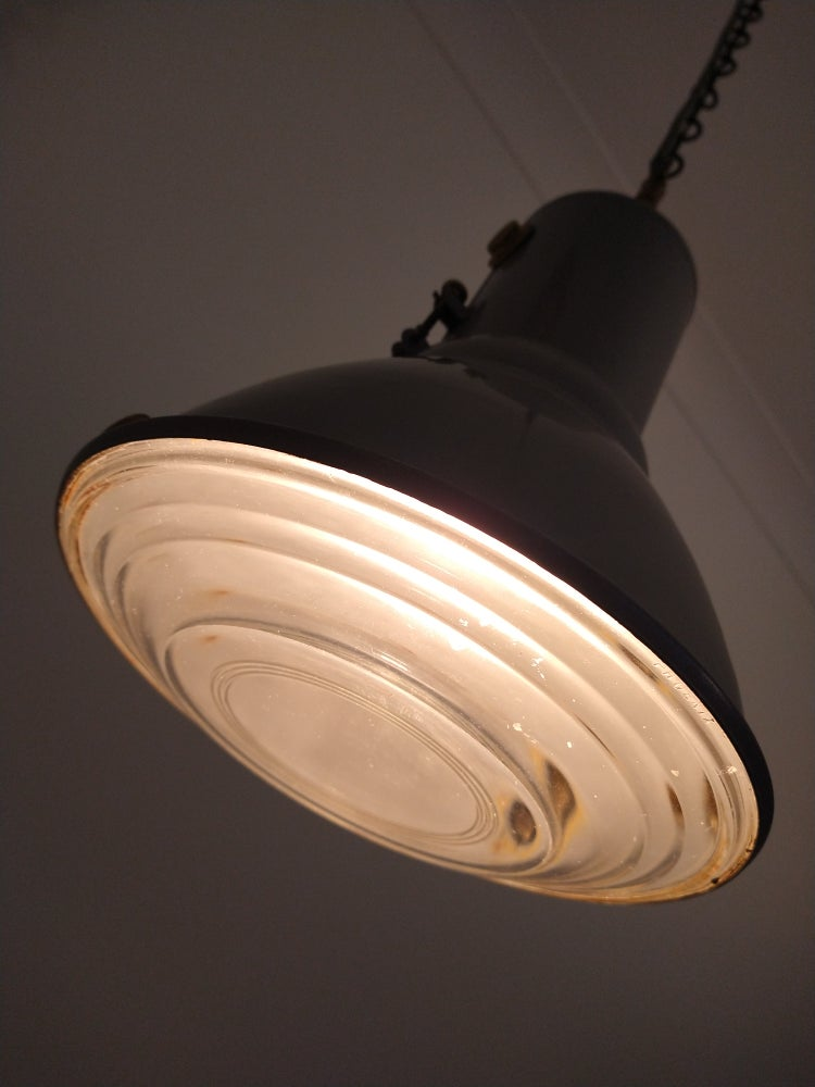 Image of Fresnel Lens pendant light