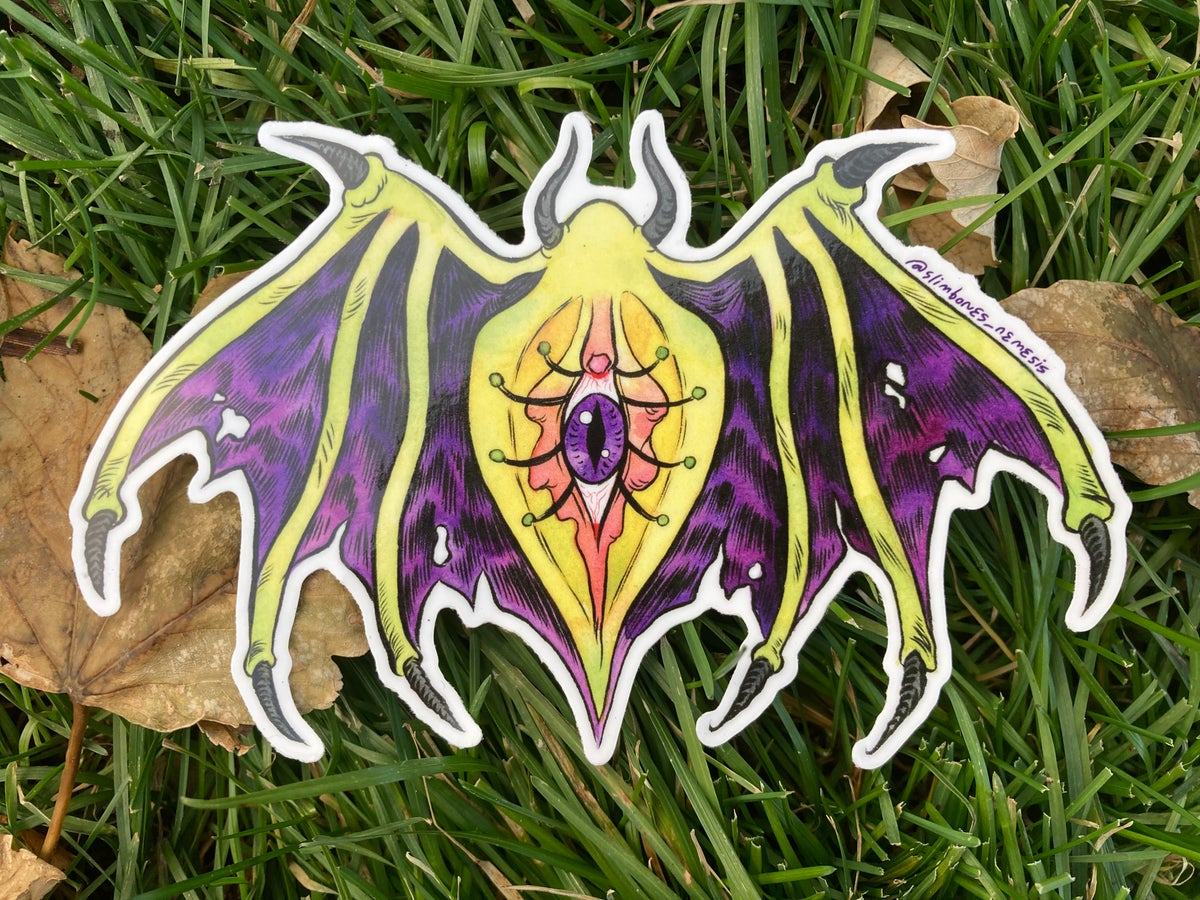 Spooky Vulva Sticker