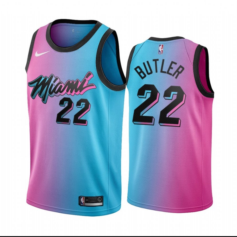 Image of Jimmy butler Miami heat city jersey 2020/2021