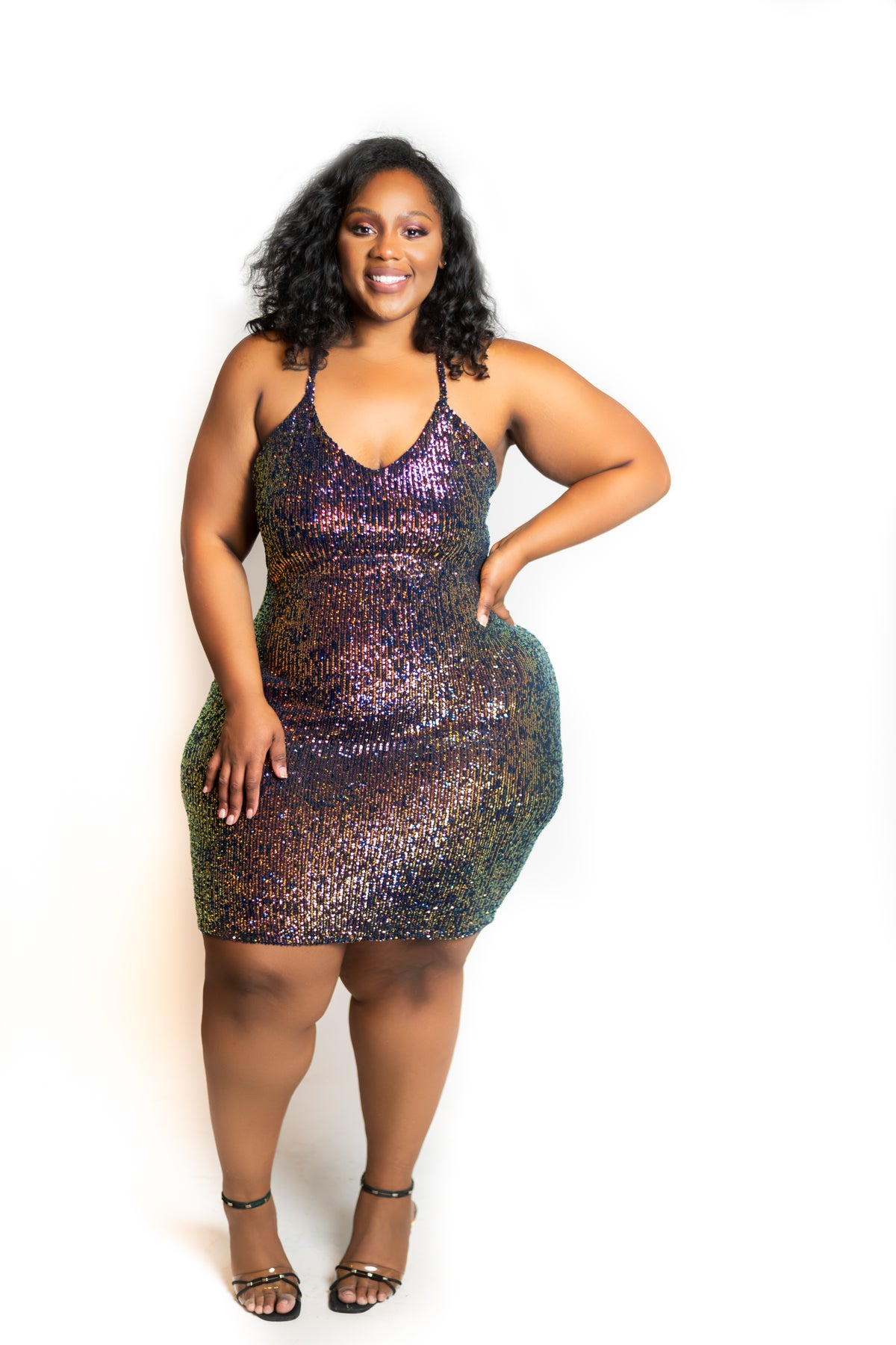 Image of RUBI SEQUIN MINI DRESS