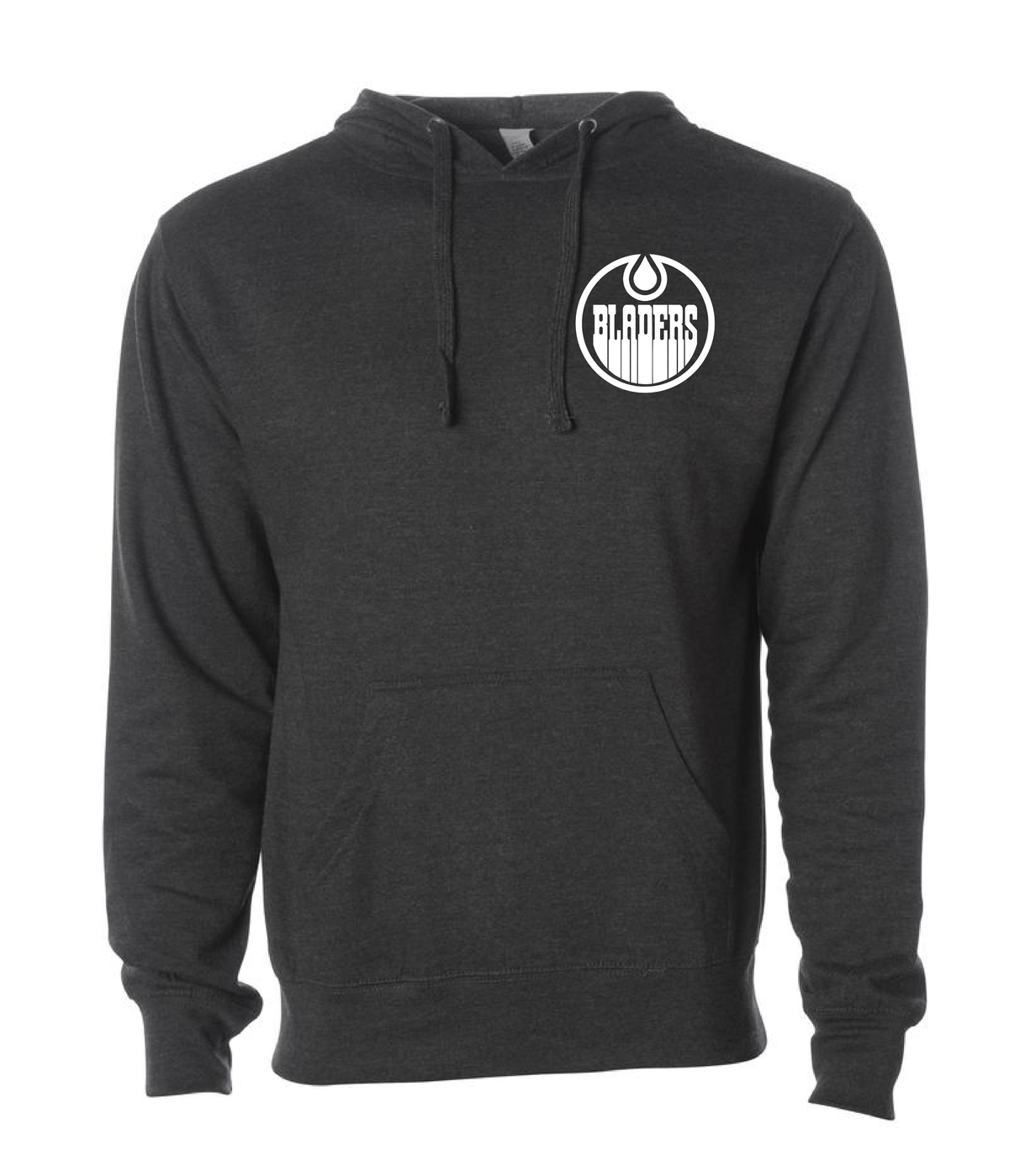 Image of Bladers Pullover Hoodie - Charcoal Heather - Unisex - Preorder