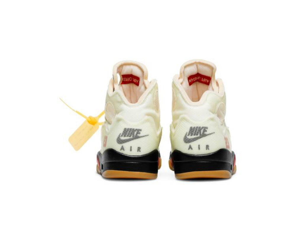 "OFF-WHITE X AIR JORDAN 5 ""SP SAIL"""