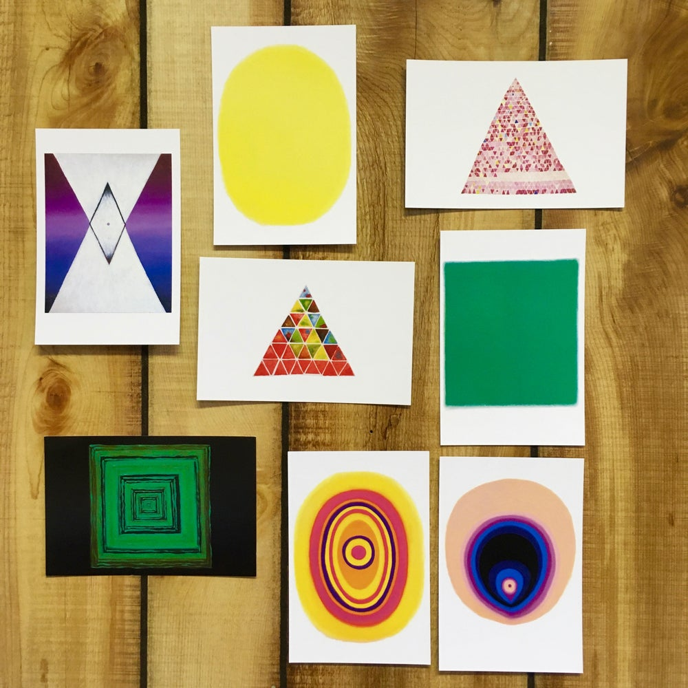 Image of Set of 8 Art Postcards