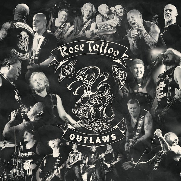 Image of *NEW* Rose Tattoo - Outlaws 2xLP