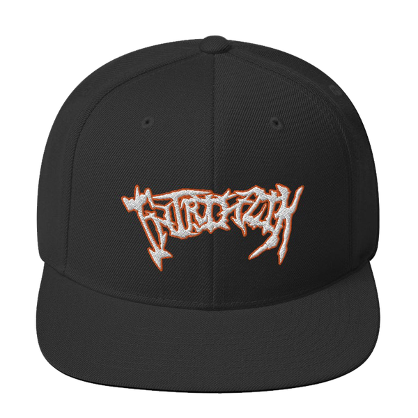 "Image of Intrinzik ""Seasoned"" Logo Snapback Baseball Cap"