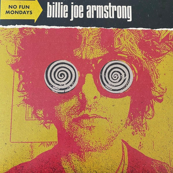 Image of Billie Joe Armstrong - No Fun Mondays LP (limited color vinyl)