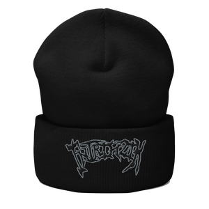 "Image of Intrinzik ""Seasoned"" Logo Beanie"