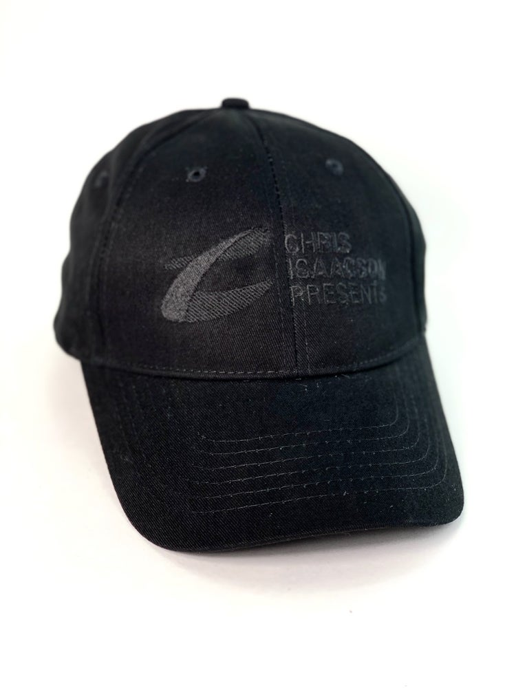 "Image of ""Black On Black"" Hat - Chris Isaacson Presents"