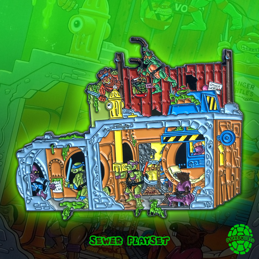 Image of Sewer Playset pin