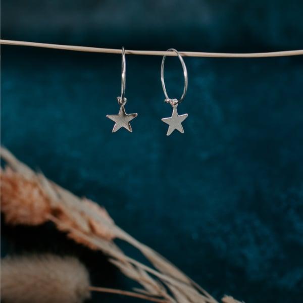 Image of Star Hoops
