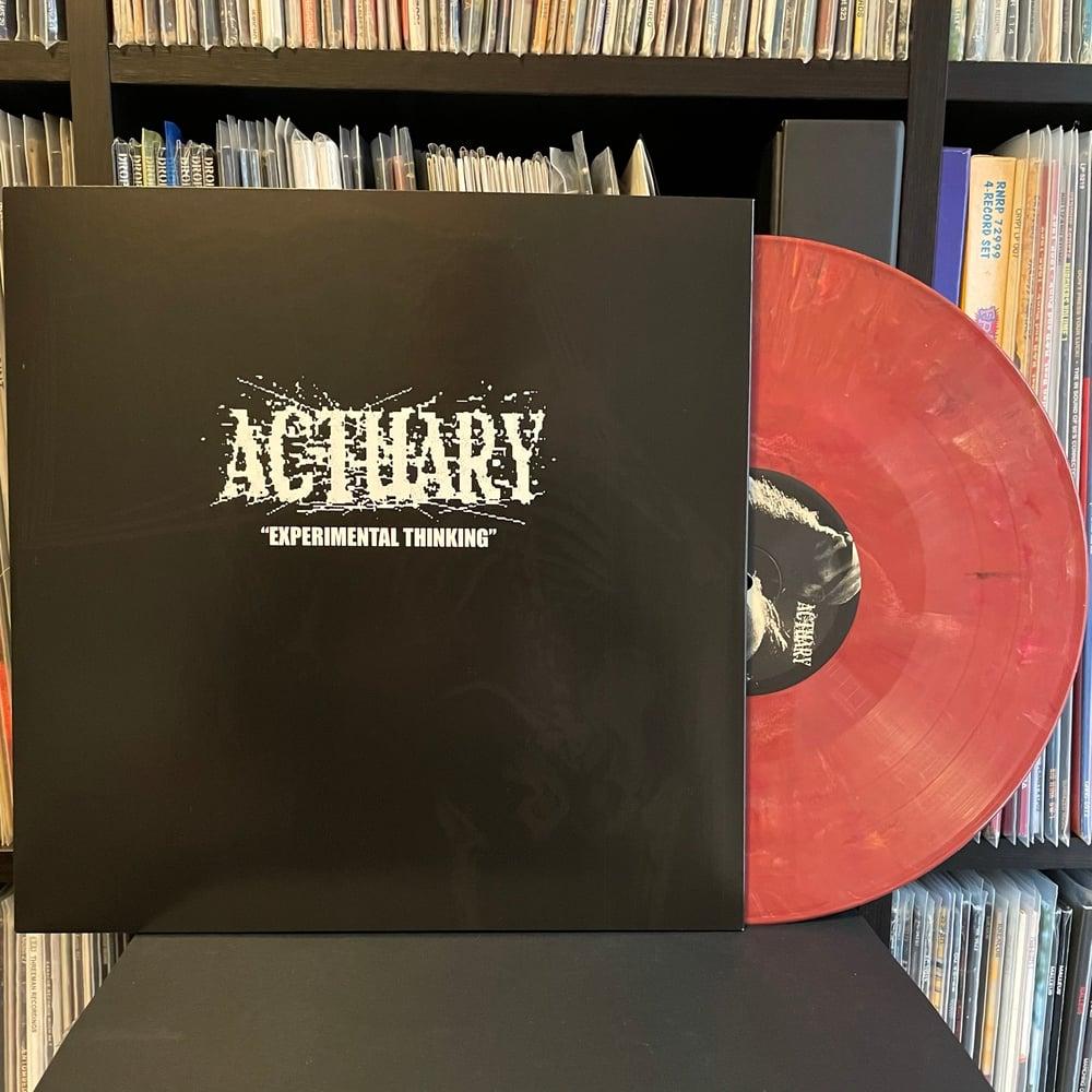 """BASTARD NOISE / ACTUARY """"Human Horror Hymns"""" split LP"""