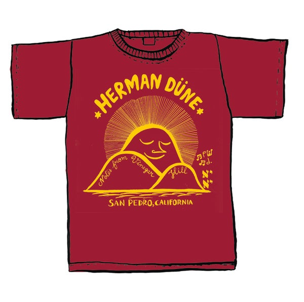 Image of Herman Düne Classic T-Shirt (Limited Red Edition)