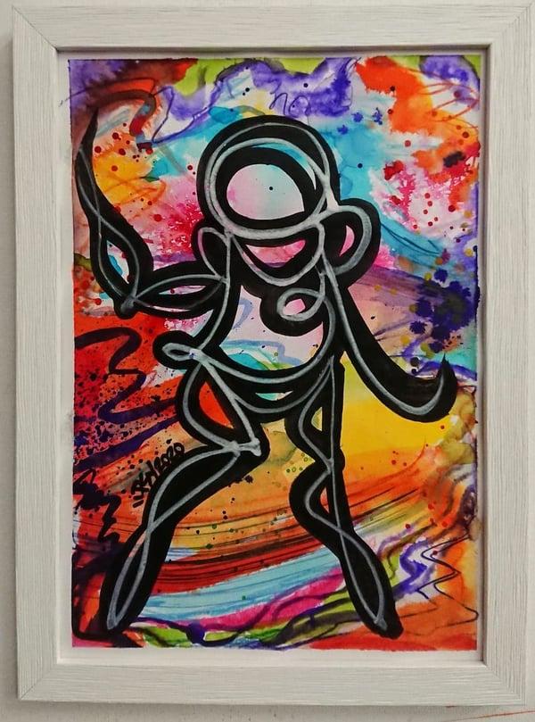 Perso Encre et Water Color 1/4 - PSY la boutik