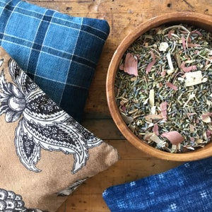 Image of SCENTED SACHET - AFRICAN INDIGOS