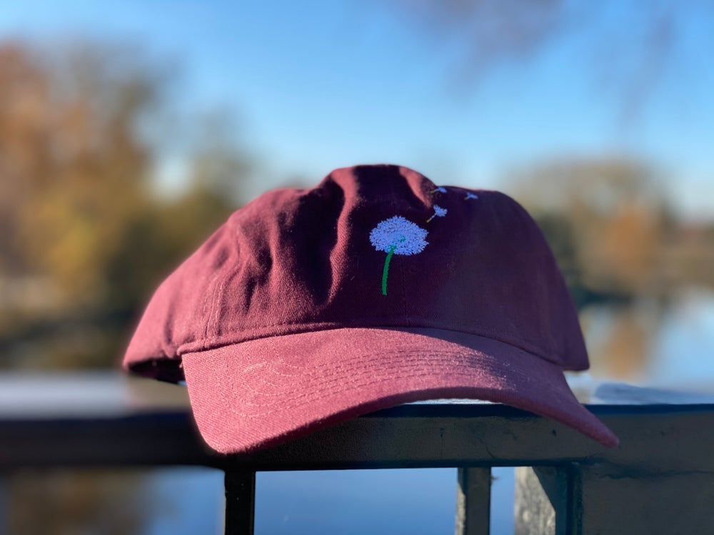 Image of Wishes Dad Cap Maroon (Limited Edition)
