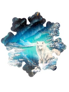 "Image of ""Arctic Fox"" Original Painting"