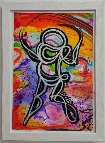 Perso Encre et Watercolor 2/4 - PSY la boutik