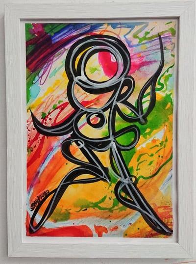 Perso Encre et Watercolor 3/4 - PSY la boutik