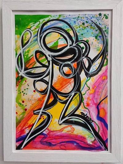 Perso Encre et Watercolor 4/4 - PSY la boutik