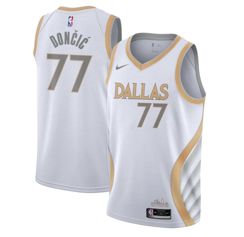 Image of Luka Dallas Mavericks city jersey 2020/2021