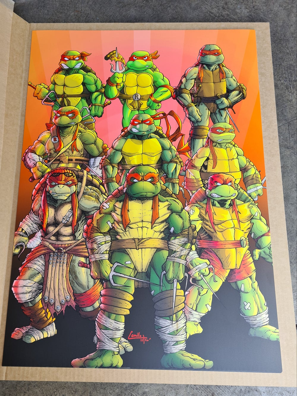 Raphael through the ages art print