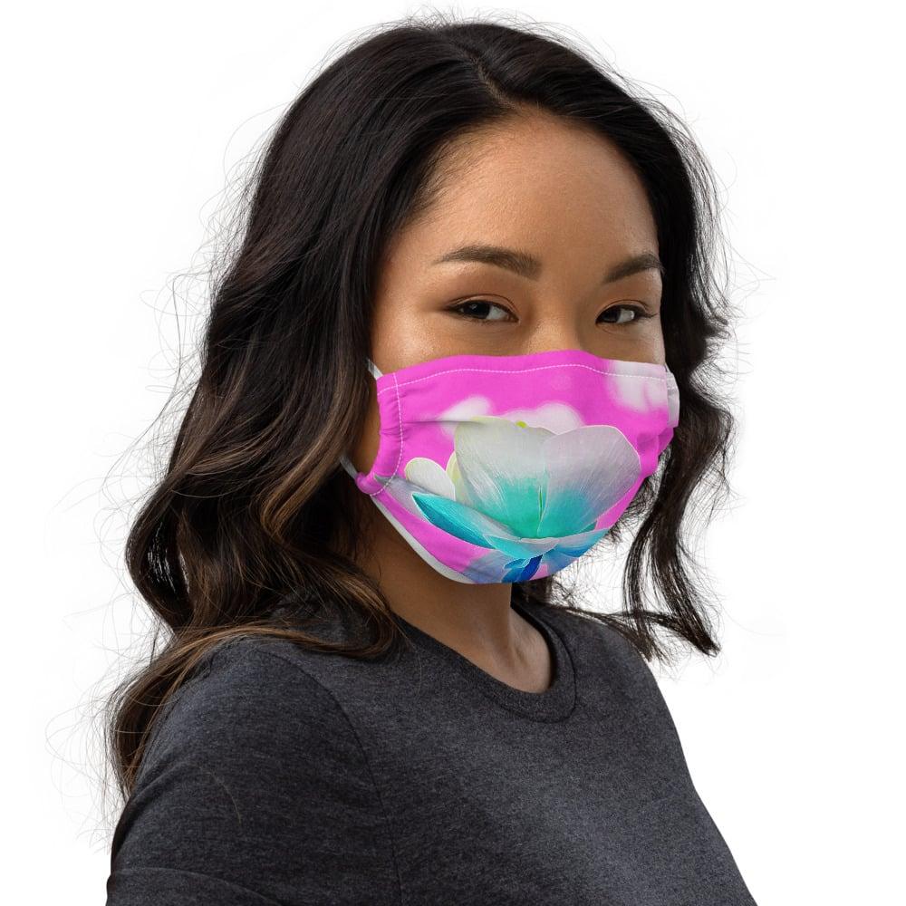 Single Lotus Premium face mask by MCR Photo