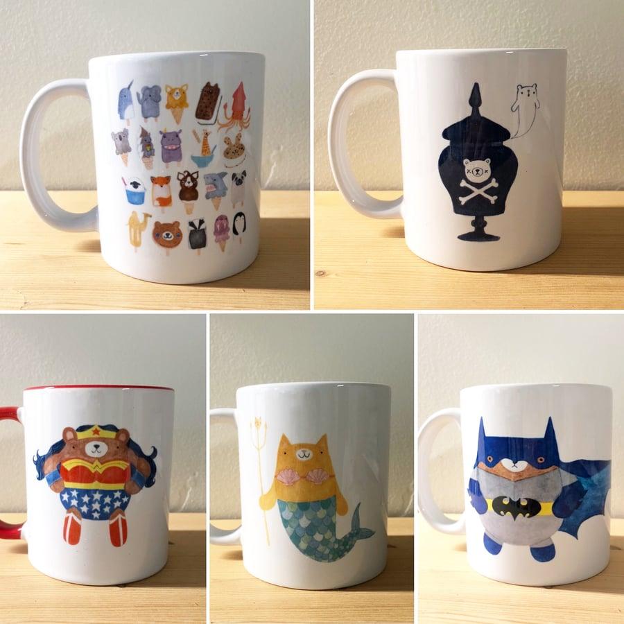 Image of SALE! art mugs