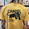 "CHAPEL TATTOO PANTHER TEE - ""QUALITY TATTOOING SINCE 1994"" NEW"