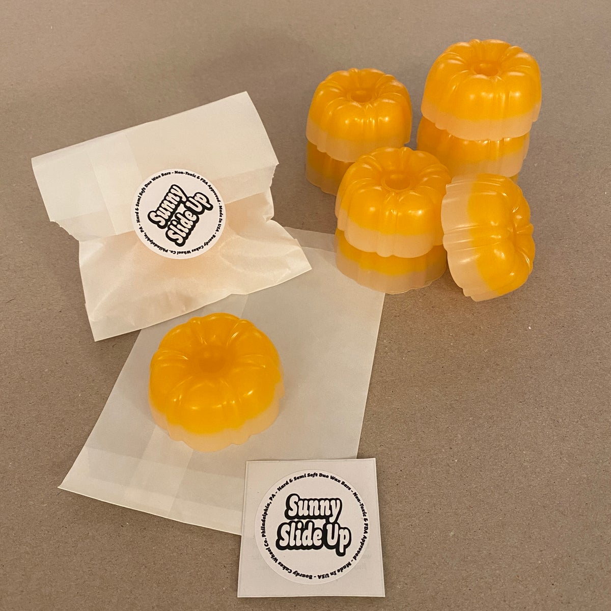 """Image of Boardy Cakes """"Sunny Slide Up"""" Duo Wax Cake"""
