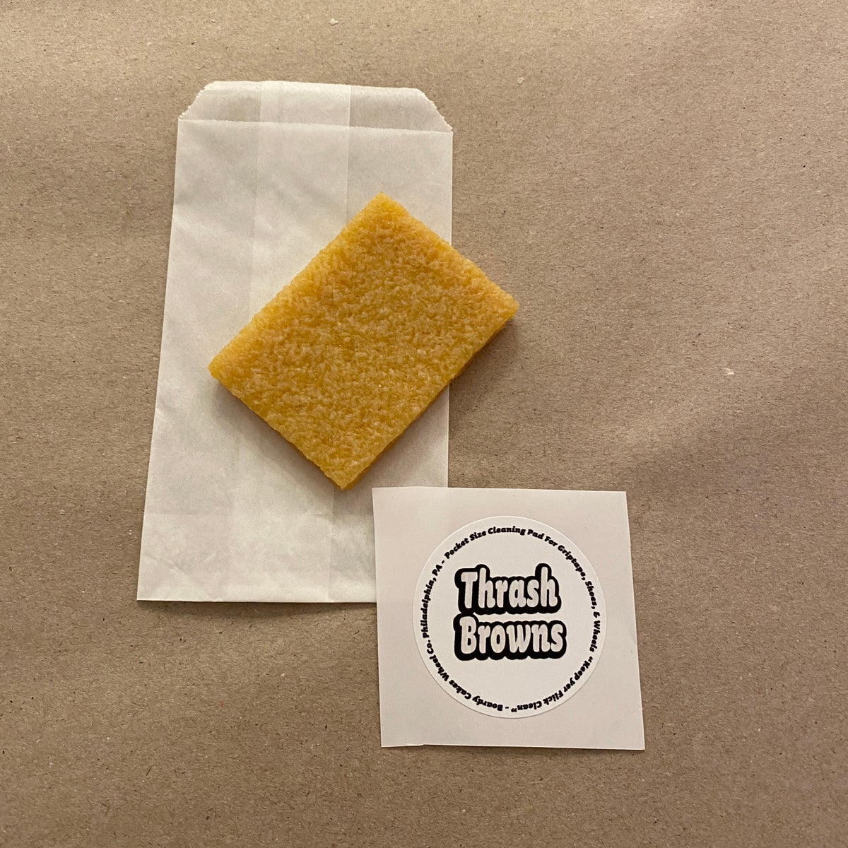 """Image of Boardy Cakes """"Thrash Browns"""" Grip Cleaning Pad"""